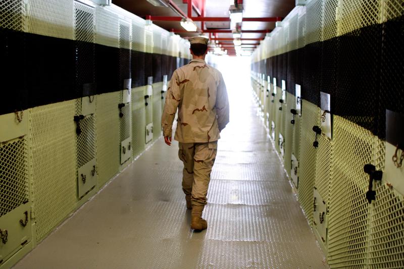 Więzienie w Guantanamo fot.Shawn Thew/EPA