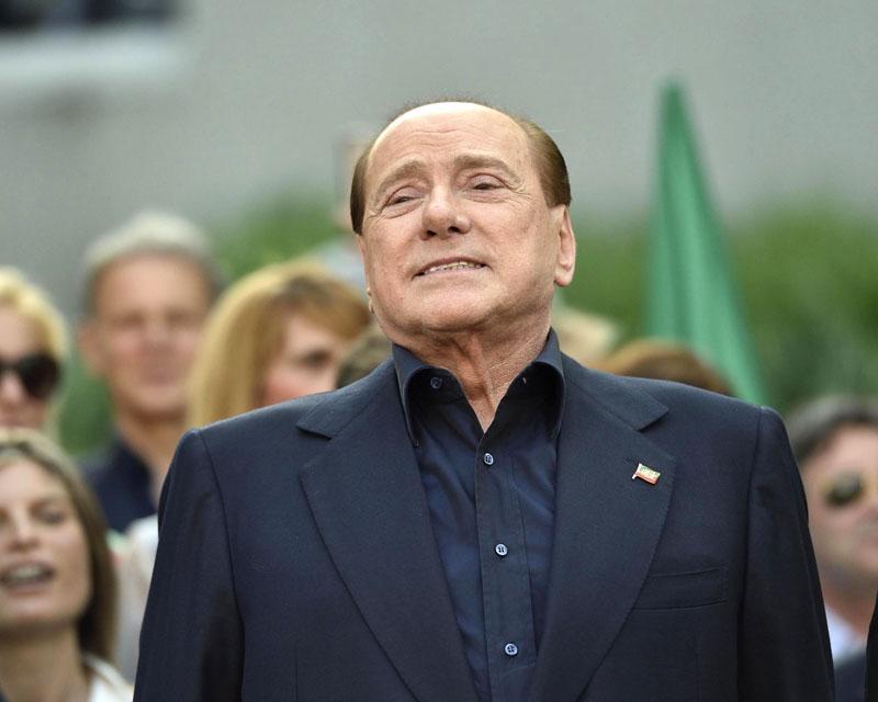 Silvio Berlusconi fot.Flavio Lo Scalzo/EPA