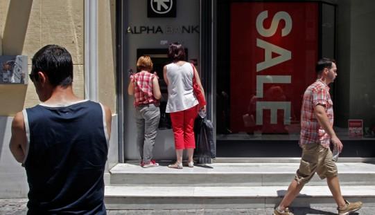 Grecja. Kapitały w bankach mogą zostać zamrożone przez wiele miesięcy