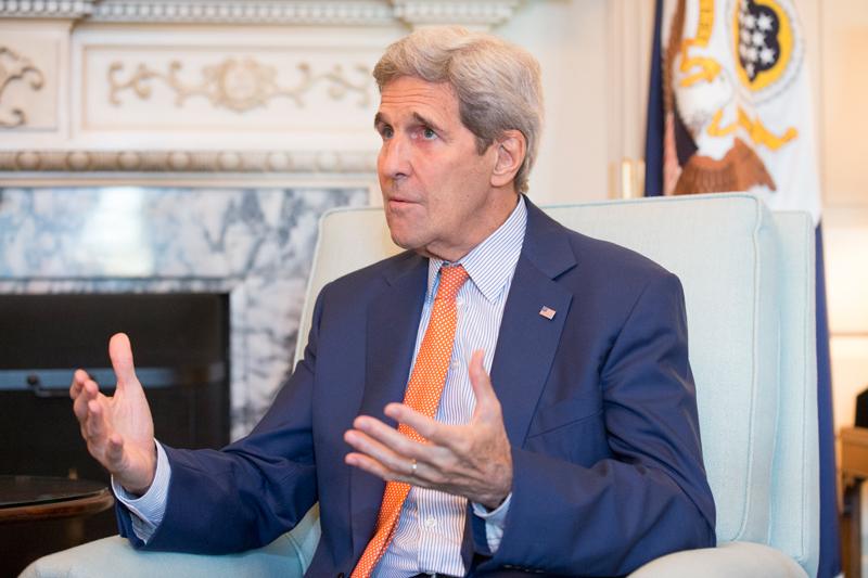 John Kerry fot.Michael Reynolds/EPA