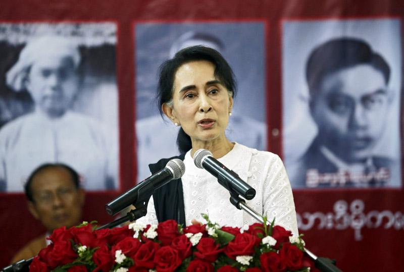 Aung San Suu Kyi fot.Lynn Bo Bo/EPA