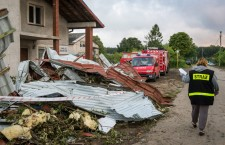 Storms and whirlwind over Poland