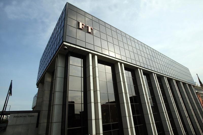 Budynek Financial Times w Londynie fot.STR/EPA