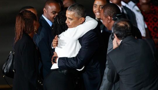 Obama w Kenii: Afryka dynamicznie się rozwija (ZDJĘCIA)
