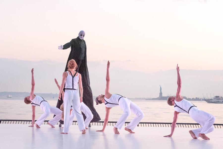 Występ Polskiego Teatru Tańca w Nowym Jorku fot.Battery Dance Company Facebook