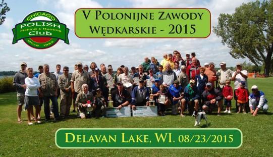 V Polonijne Zawody Wędkarskie o taaaaką i taką rybę