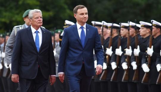 Polish and German presidents meet in Berlin