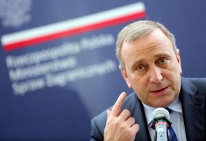 Grzegorz Schetyna fot.Leszek Szymanski/EPA