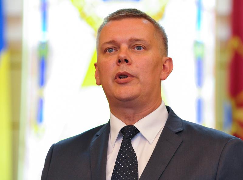 Tomasz Siemoniak fot.Mykola Tys/EPA