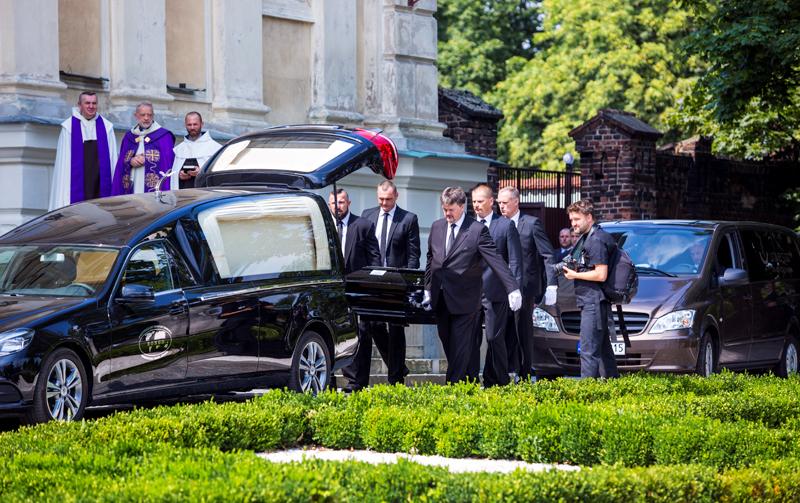 Pogrzeb Jana Kulczyka fot.Marek Zakrzewski/EPA