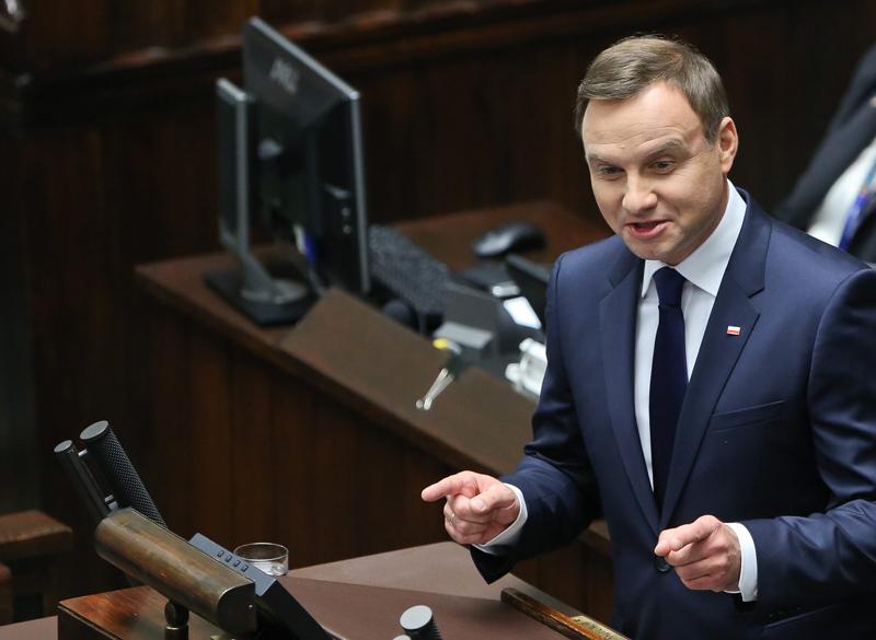 Andrzej Duda fot.Rafał Guz/EPA