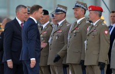 Poland's President Andrzej Duda takes supreme command over Polish Armed Forces