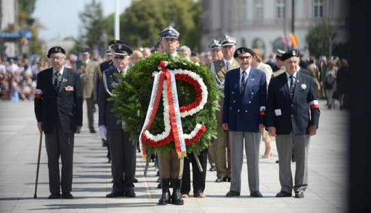 Warszawa uczciła 71. rocznicę powstania warszawskiego