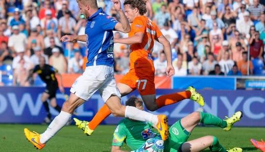 Ekstraklasa piłkarska – porażka Lecha, remis Legii