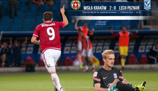 Ekstraklasa piłkarska – druga porażka Lecha. Cracovia nowym liderem