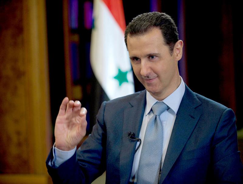 Baszar el-Asad fot.SANA/EPA
