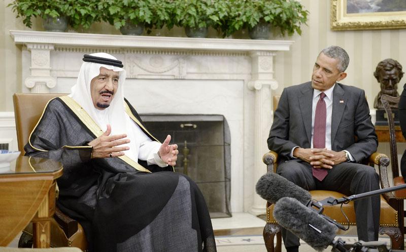 Prezydent Barack Obama przyjął króla Arabii Saudyjskiej Salmana as-Sauda     fot.Olivier Douliery /EPA