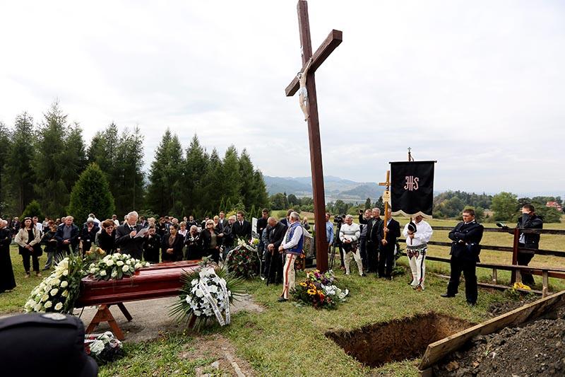 Pogrzeb biskupa Wesołowskiego fot.Grzegorz Momot/EPA