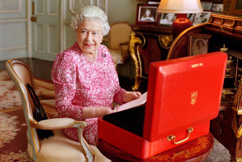 Królowa Elżbieta fot.Mary McCartney /EPA