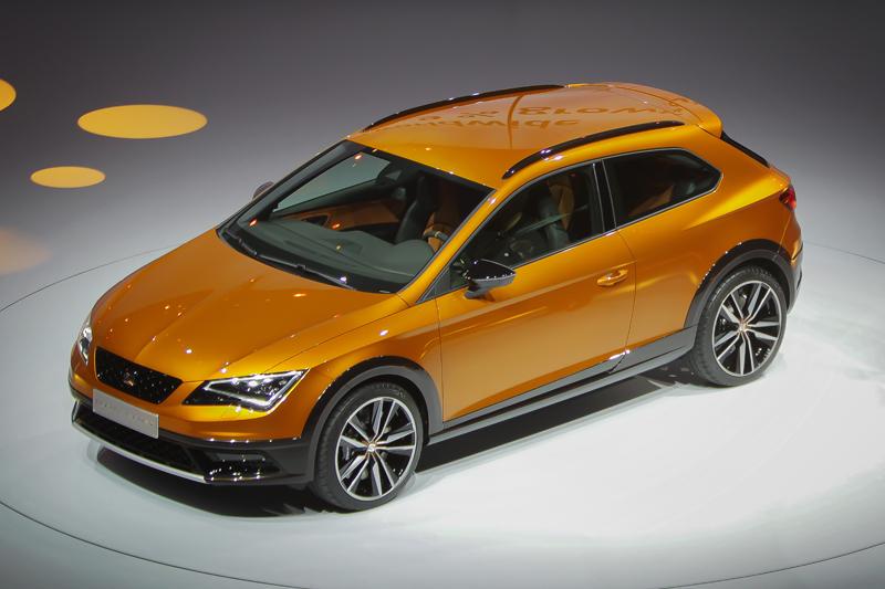 Seat Leon Cross Sport for.Frederik Von Erichsen/EPA