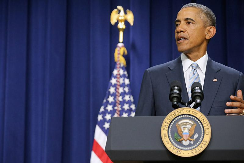 Barack Obama fot.Chip Somodevilla/EPA
