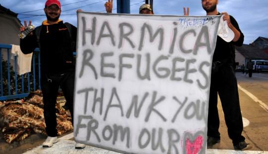 Grecja. Młodzi ateńczycy pomagają uchodźcom