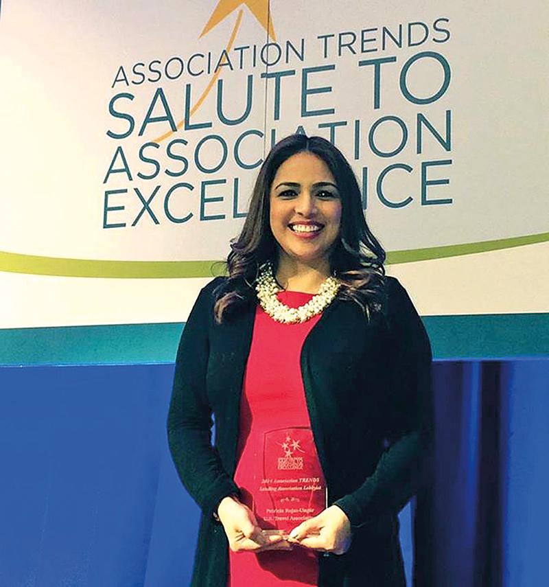 Patricia Rojas-Ungár, wiceprezes ds. kontaktów z rządem federalnym w Amerykańskim Stowarzyszeniu Turystyki (U.S. Travel Association)