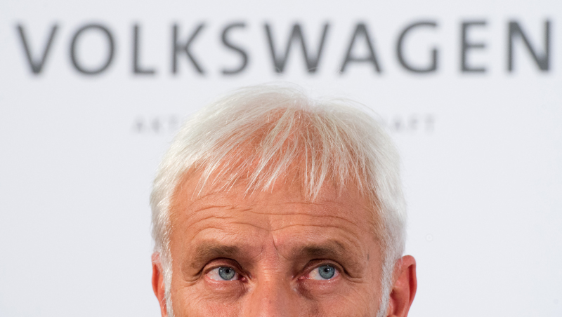 Matthias Mueller fot.Julian Stratenschulte/EPA