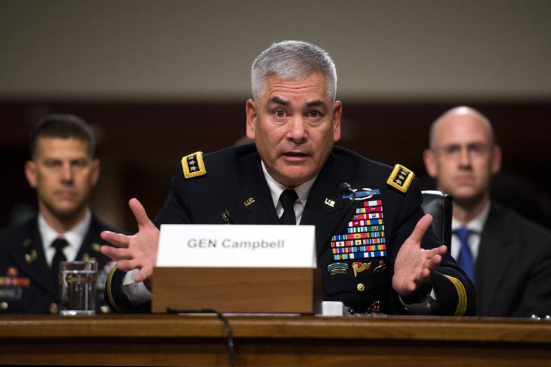 Generał John Campbell fot.Shawn Thew/EPA