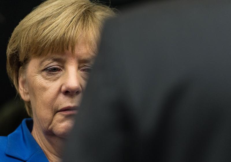 Angela Merkel fot.Patrick Seeger/EPA