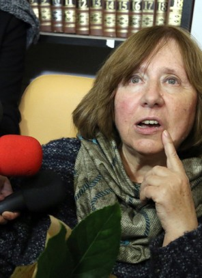 Swietłana Aleksijewicz – pierwsza reporterka z Noblem