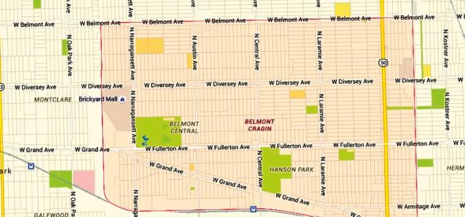 Rabunki z bronią w ręku w dzielnicy Belmont Cragin
