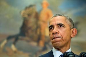 Prezydent Barack Obama fot.Michael Reynolds/EPA