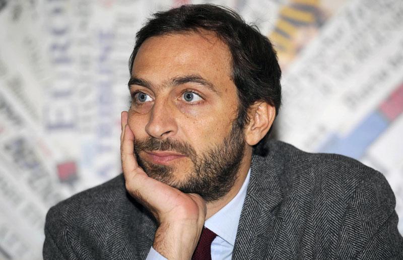 Jeden z oskarżonych dziennikarzy, Emiliano Fittipaldi fot. Giorgio Oronati