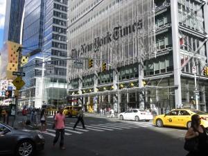 New York Times fot.Ewa Malcher