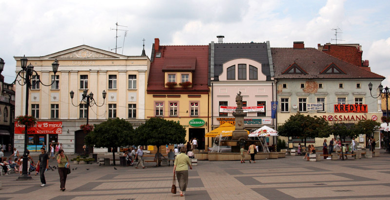 Rynek w Rybniku fot.Przykuta/Wikipedia