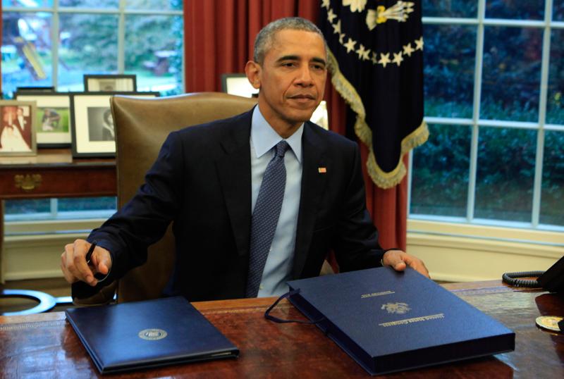 Barack Obama fot.Dennis Brack/Pool/EPA