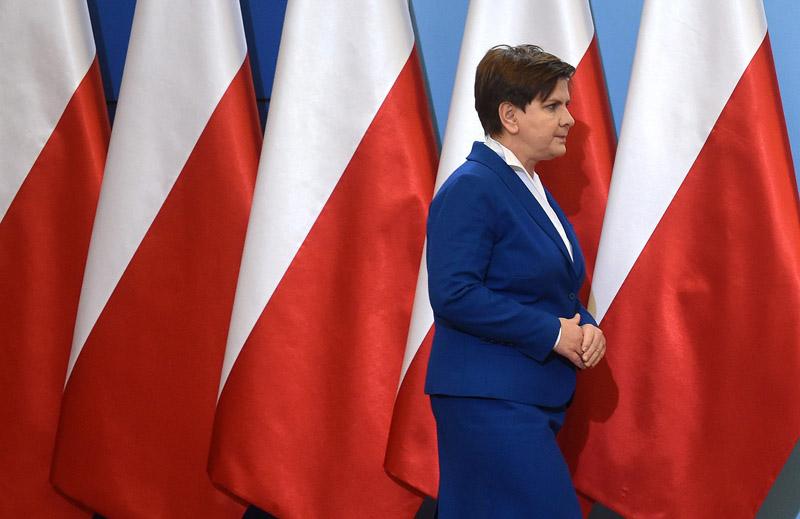 Beata Szydło fot.Radek Pietruszka/EPA