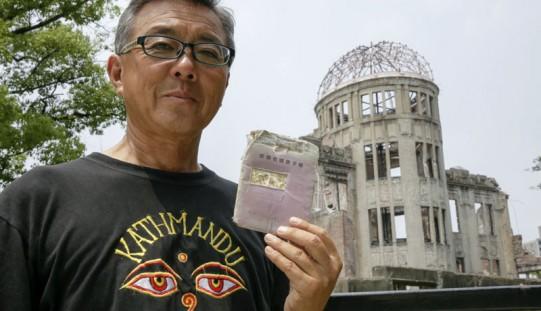 Przeżył wybuch w Hiroszimie w łonie matki, teraz edukuje