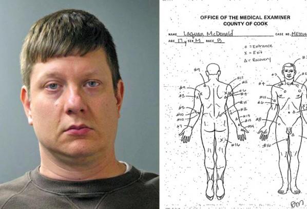 1,5 mln dol. kaucji dla policjanta oskarżonego o morderstwo
