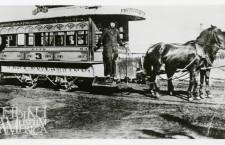 Tramwaj konny na ulicy Milwaukee_większe