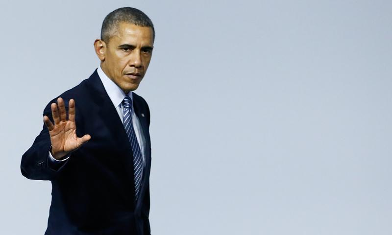 Barack Obama fot.Ian Langsdom/EPA