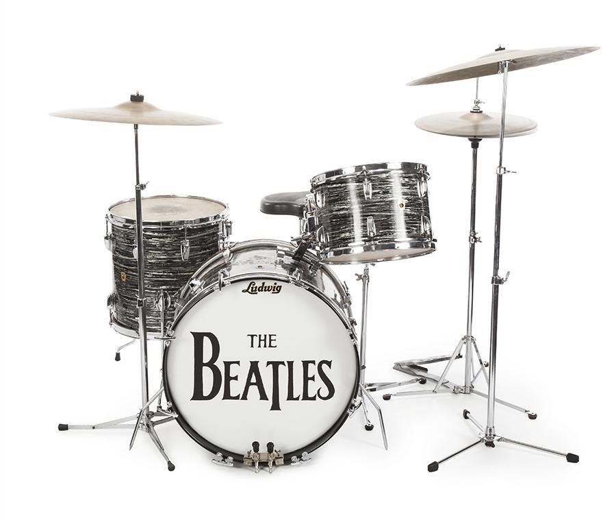 Perkusja Ringo Starra fot.Julien's Auction/EPA