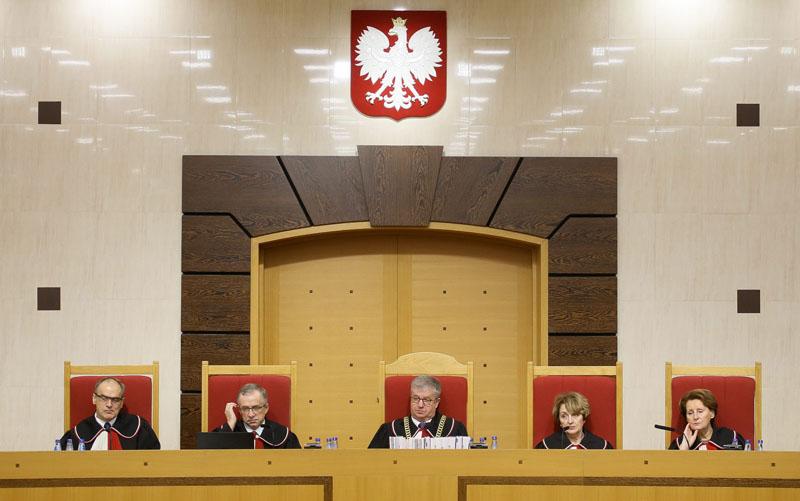 Trybunał konstytucyjny fot.Paweł Supernak/EPA