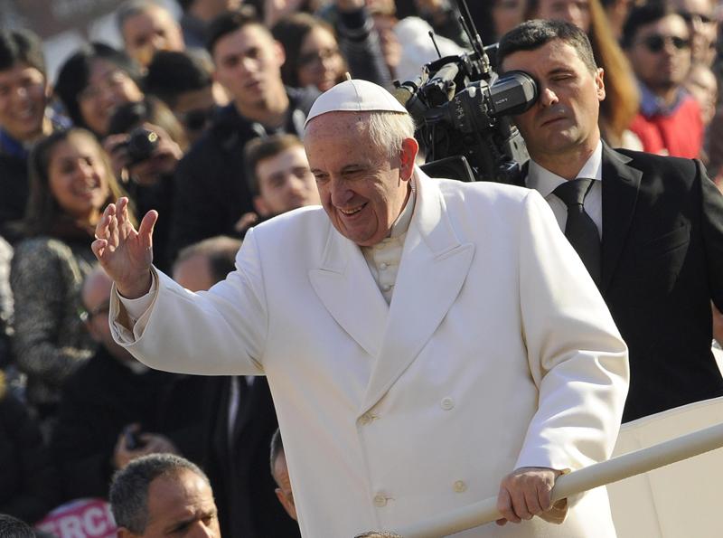 Papież Franciszek fot.Giorgio Onorati/EPA
