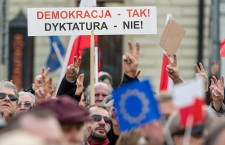 Demonstration of the Committee for the Defence of Democracy (KOD)