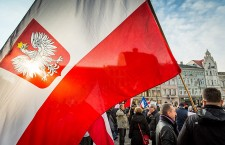 Pro and anti government demonstrations in Poland