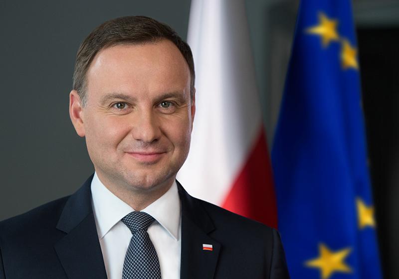 Prezydent RP Andrzej Duda fot. Andrzej Hrechorowicz/KPRP