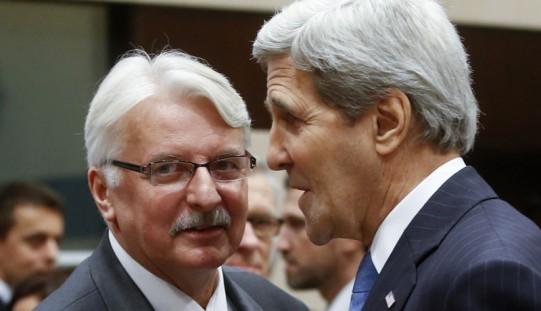John Kerry spotkał się w Brukseli z Witoldem Waszczykowskim