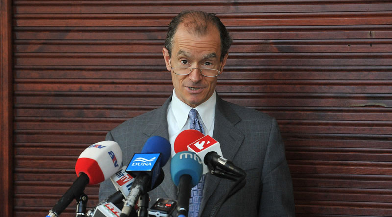 Były ambasador USA w Polsce Daniel Fried fot. Lajos Soos/EPA